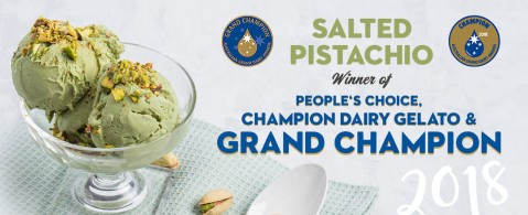 Pure Gelato Salted Pistachio